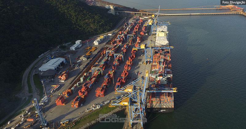 Sepetiba Tecon é autorizado a operar navios de 367 metros